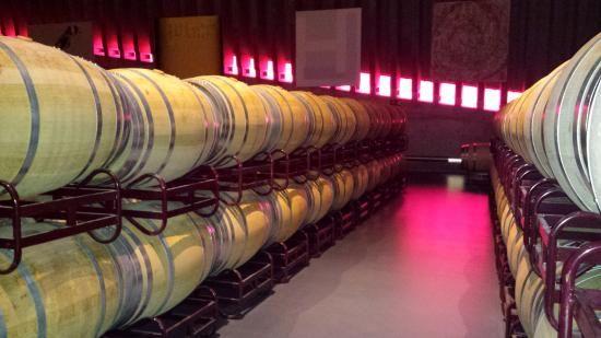 El vino reposa tranquilo