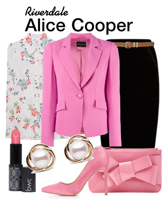 Alice Cooper Riverdale by sparkle1277 on Polyvore featuring polyvore, fashion, style, True Religion, Emporio Armani, Jupe By Jackie, Charlotte Russe, Delpozo, Trilogy, M&Co and clothing