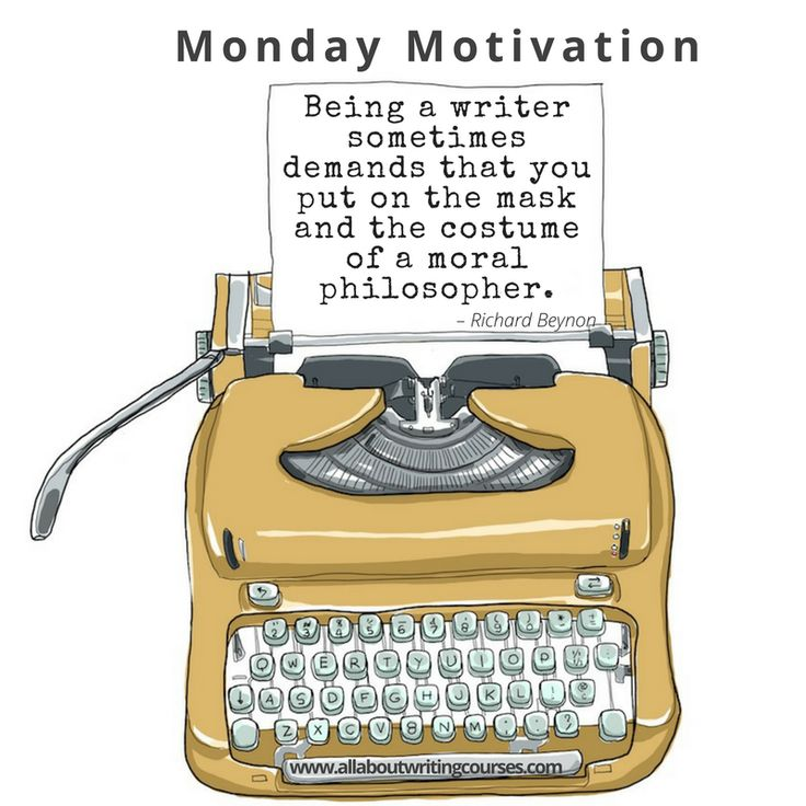Monday Motivation: A character in full