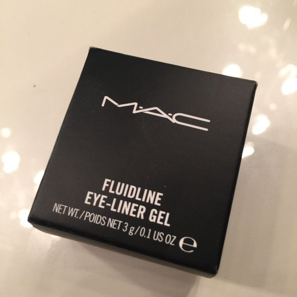 """MAC Fluidline """"Brassy"""" MAC Fluidline """"Brassy."""" Beautiful color can be used as a base for eyeshadow. Never used this product but only a light swatch to test out the color. MAC Cosmetics Makeup Eye Primer"""