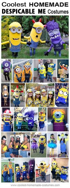 Coolest Homemade Despicable Me Costume Ideas - Halloween Costume Contest