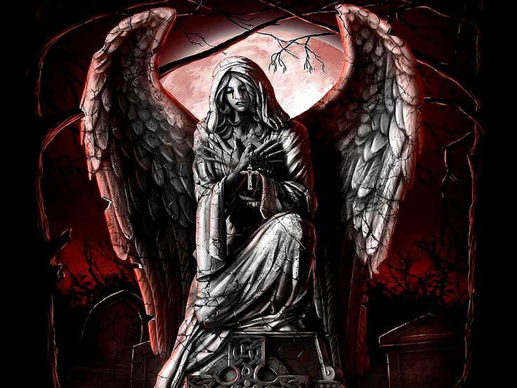 Dark Angel Wallpaper | fantasia | Pinterest | Art, Dark ...