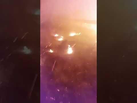 Incendio en Gran Canaria 20 septiembre 2017  https://youtu.be/_S3HEeMz2rA  Violencia de las llamas a pie de terreno en el incendio de Gran Canaria