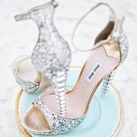 Love these Miu Miu shoes! #shoeporn #luxurybrand #miumiushoes #instagood #fashionblogger #blingbling