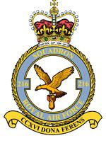 No. 216 Squadron Badge