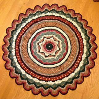 rings of change pattern make as big as a baby blanket or