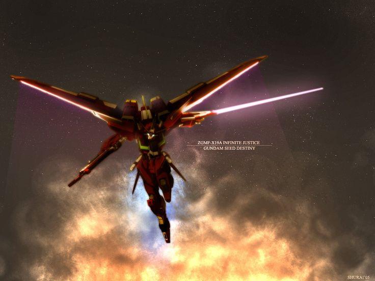 NEW MG 1/100 Scale ZGMF-X19A Infinite Justice Gundam Model Kit ...