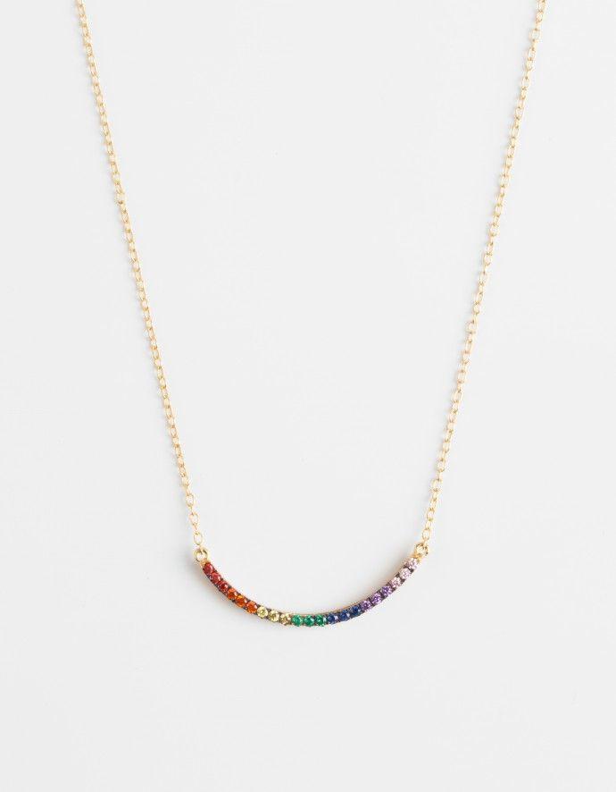 "Ileana Makri Collier ""Rainbow"""