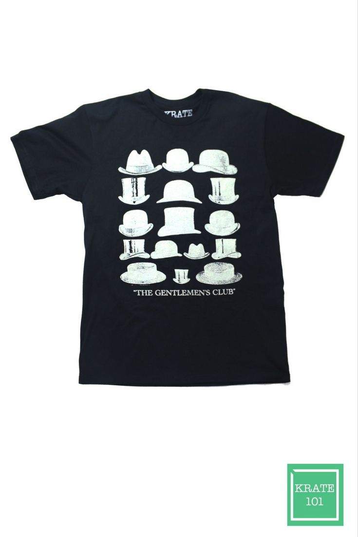 GENTLEMEN'S CLUB T-SHIRT, men original graphics