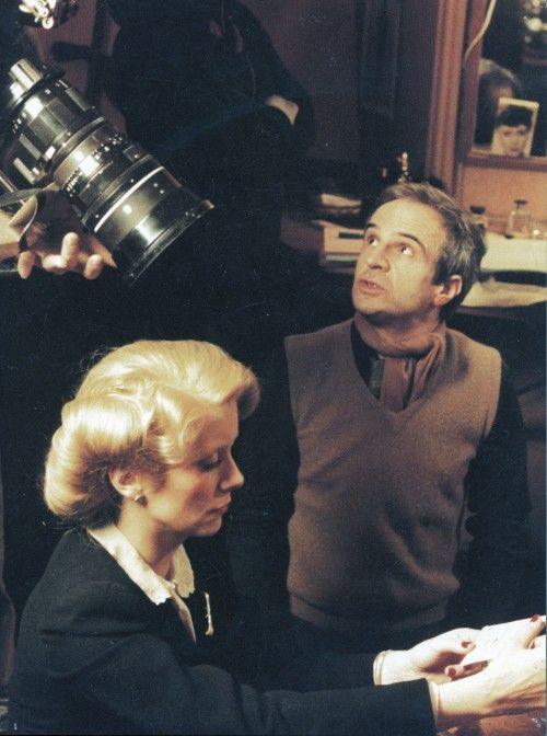 Catherine Deneuve et François Truffaut Le Dernier Métro