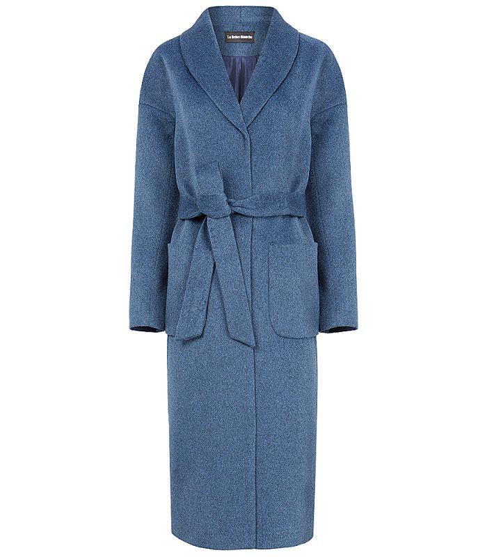 Полушерстяное пальто-халат LA REINE BLANCHE 167421000, купить недорого в Москве, каталог 2016, 2017, цена с фото, все размеры, доставка дешево в интернет-магазине Снежная королева