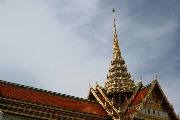 The Grand Palace, Bangkok. Temple