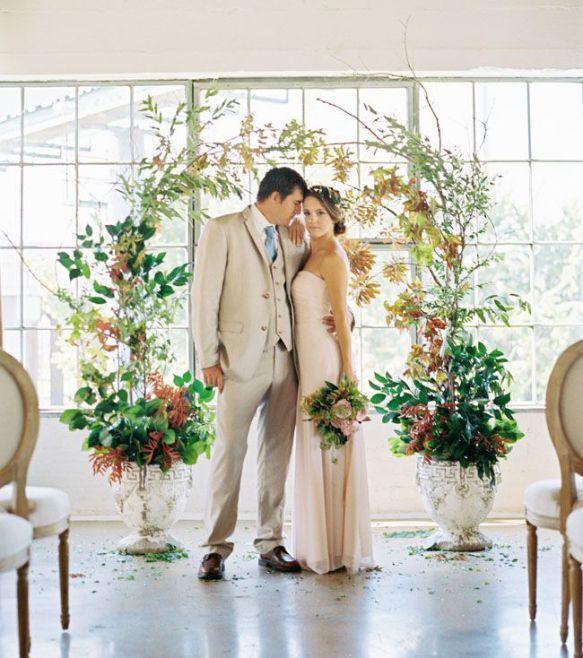 Natural Wedding Altar: 1109 Best CEREMONY Images On Pinterest