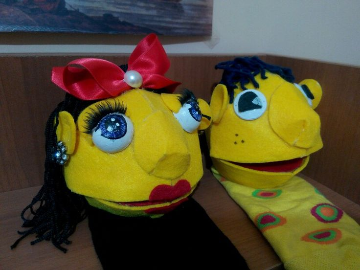 My puppets for children :)