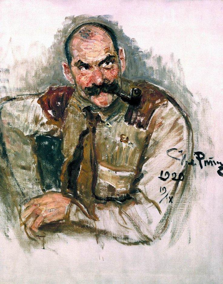 Portrait of A. Gallen Kallela - Ilya Repin