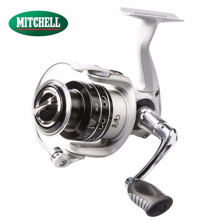 100% Original Mitchell AVOCET RZT 500UL 1000 2000 3000 4000 Spinning Fishing Reel 8+1BB Front Drag Oil Felt Carp Fishing Wheel #Affiliate