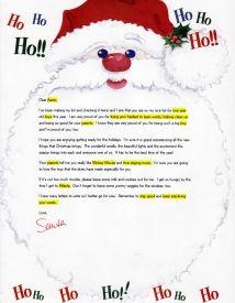Best Santa Letters Images On   Calligraphy Letter