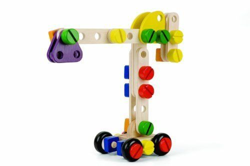 Amazon.com: Pintoy Creative Construction (large) by DJECO: Toys & Games