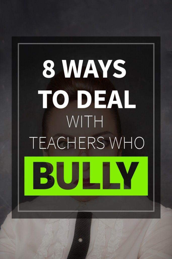 手机壳定制free online shoes shopping  Ways to Deal with Teachers Who Bully