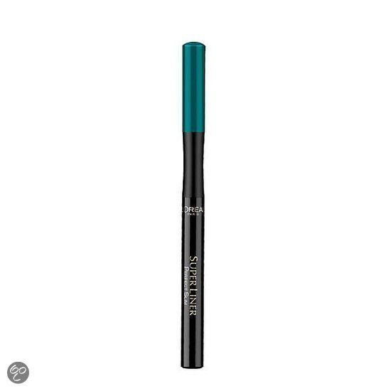 L'Oréal Paris Perfect Slim Eyeliner | Groen http://www.bol.com/nl/p/l-oreal-paris-perfect-slim-groen-eyeliner/9200000027122070/