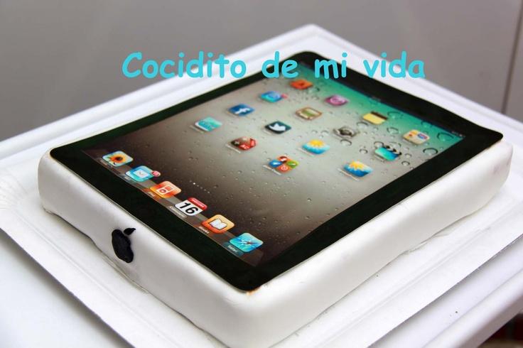 Cocidito de mi vida: tarta iPad