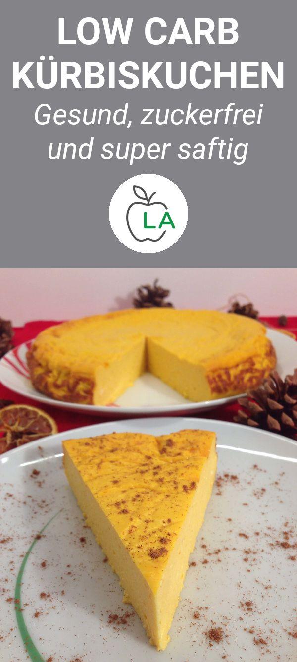 Low Carb Kürbiskuchen – ein herbstlicher Cheesecake Traum