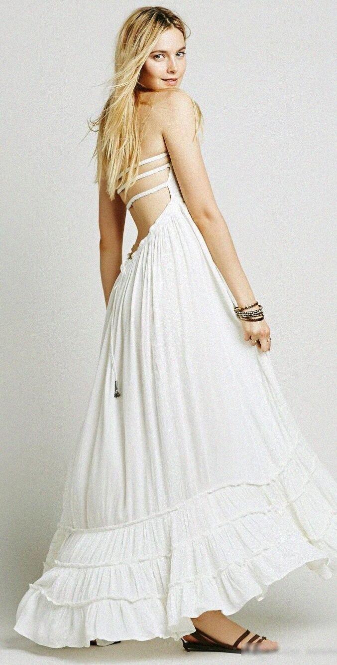 Bohemian backless maxi dress bohemian summer dresses boho dresses