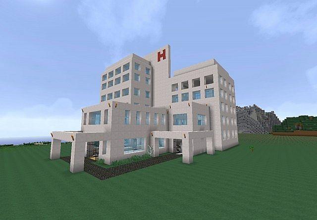Маме, картинки больницы в майнкрафте