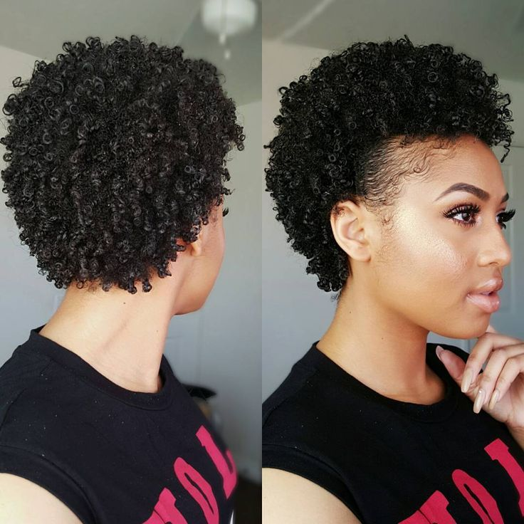 Short Hairstyles For Natural Hair Stunning 712 Best Short Sassy Natural Styles Images On Pinterest  Hair Dos