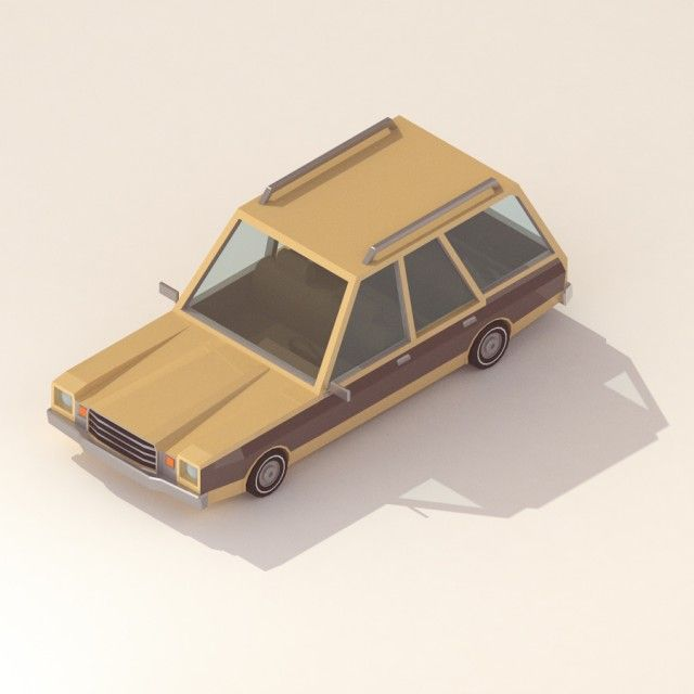 30 isometric renders in 30 days-18