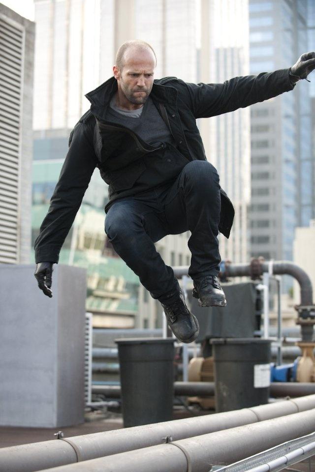 Pretty much hot. Jason Statham in Killer Elite.