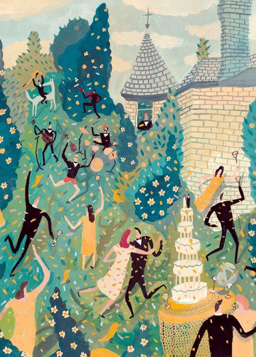 nicholas stevenson.: Ideas, Weddings, Stevenson Illustrations, Wedding Invitations, Nicholas Stevenson, Illustration Art, Stevenson Wedding