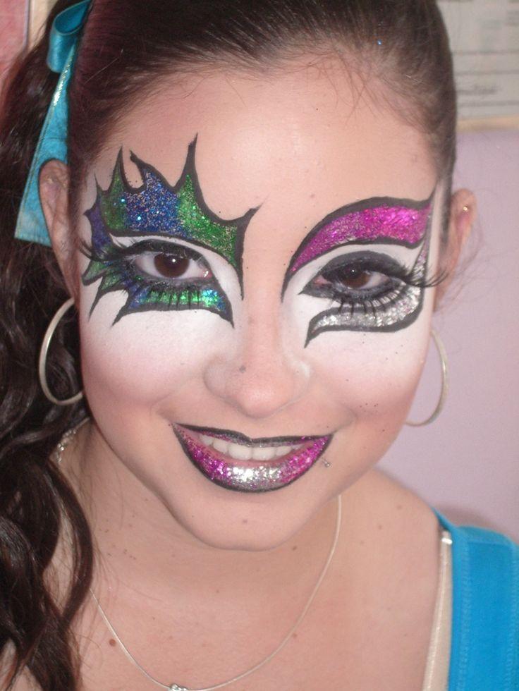 Fotos De Maquillaje Artistico Imagenes | Caras pintadas ...