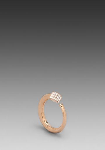 Vita Fede Ultra Eclipse Crystal Midi Ring
