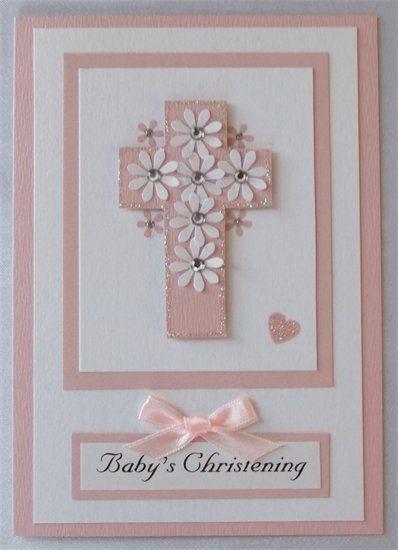 another baptism card idea  Une idee de carte pour une communion