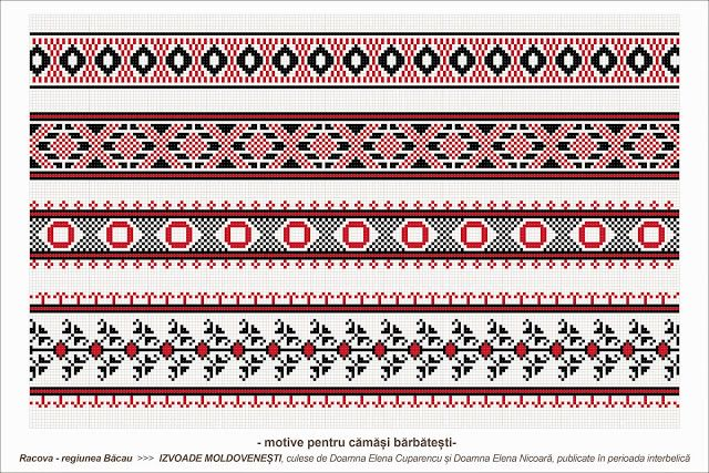 Semne Cusute: romanian traditional motifs - MOLDOVA - Bacau - sa...