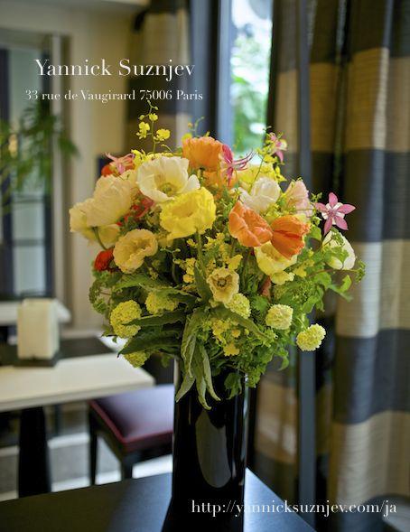 ポピーのブーケ|Parisian Florist Yannick Suznjev