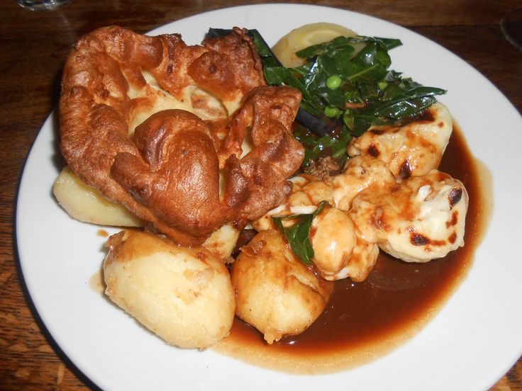 Roast without the beef in Ironbridge England