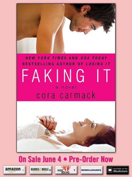 COVER REVEAL: Faking It by Cora Carmack | Home