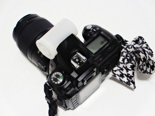 How To Make Your Own Camera Flash Diffuser