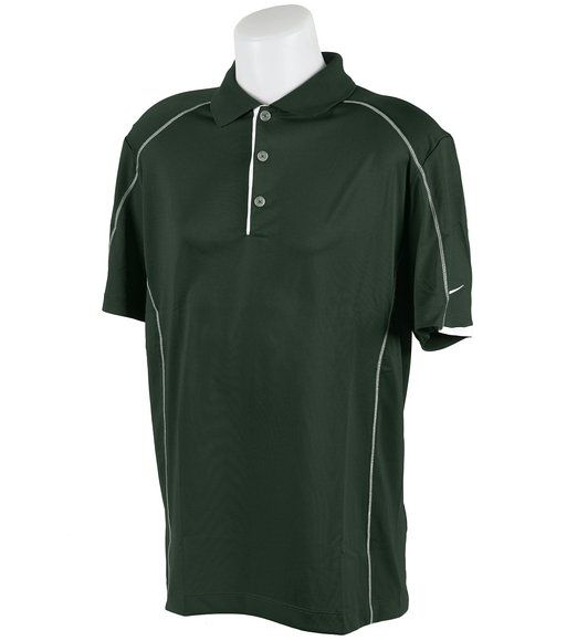 For the ultimate in comfort and sun protection, this mens tech color block golf polo shirt by Nike provides both UV protection to 30 UPF and Dri-FIT technology