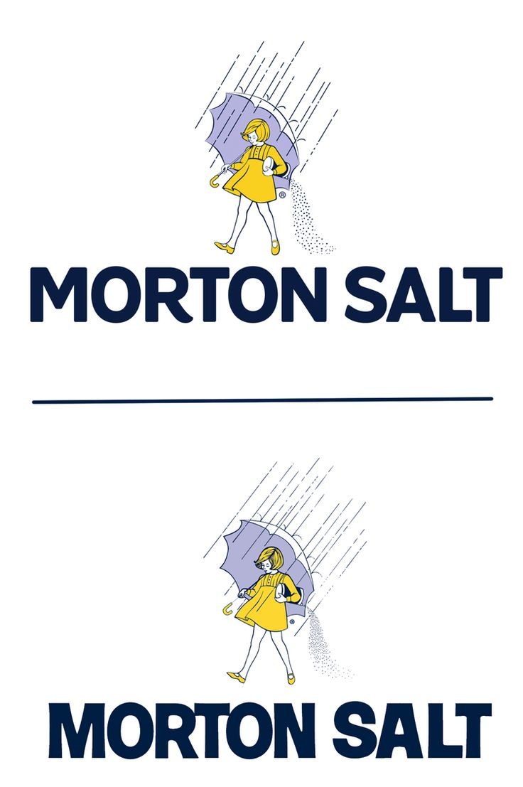 Before & After(top): Morton Salt Branding — The Dieline. like the new look.