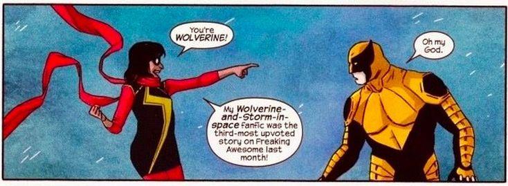 Ms Marvel Wolverine
