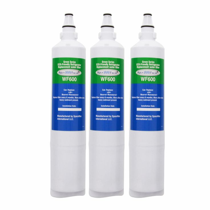 AquaFresh WF600, LG 5231JA2006A / LT600P Refrigerator Water Filter
