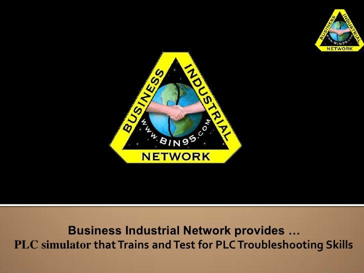 PLC Simulator by Business Industrial Network via slideshare