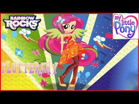 MLPEG - Fluttershy Rainbooms Style Dress Up Game - MLP-EG