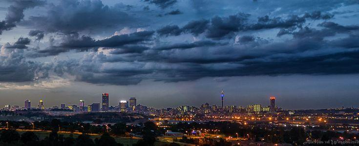 Johannesburg, City of Gold by alexiusvanderwesthuizen