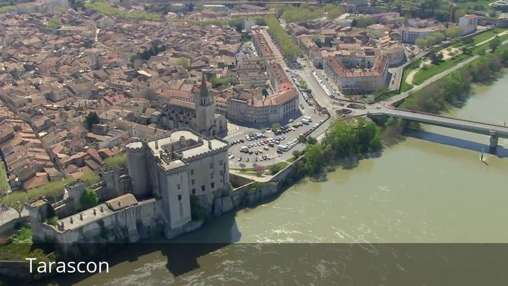 """Places to see in ( Tarascon - France )  Tarascon sometimes referred to as Tarascon-sur-Rhône is a commune situated at the extreme west of the Bouches-du-Rhône department of France in the Provence-Alpes-Côte d'Azur region. Inhabitants are referred to as Tarasconnais or Tarasconnaises. The patron saint of the city is Saint Martha whose motto is """"Concordia Felix"""".  Tarascon is located 23 km (14 mi) south of Avignon and 20 km (12 mi) north of Arles on the left (east) bank of the Rhône River. On…"""