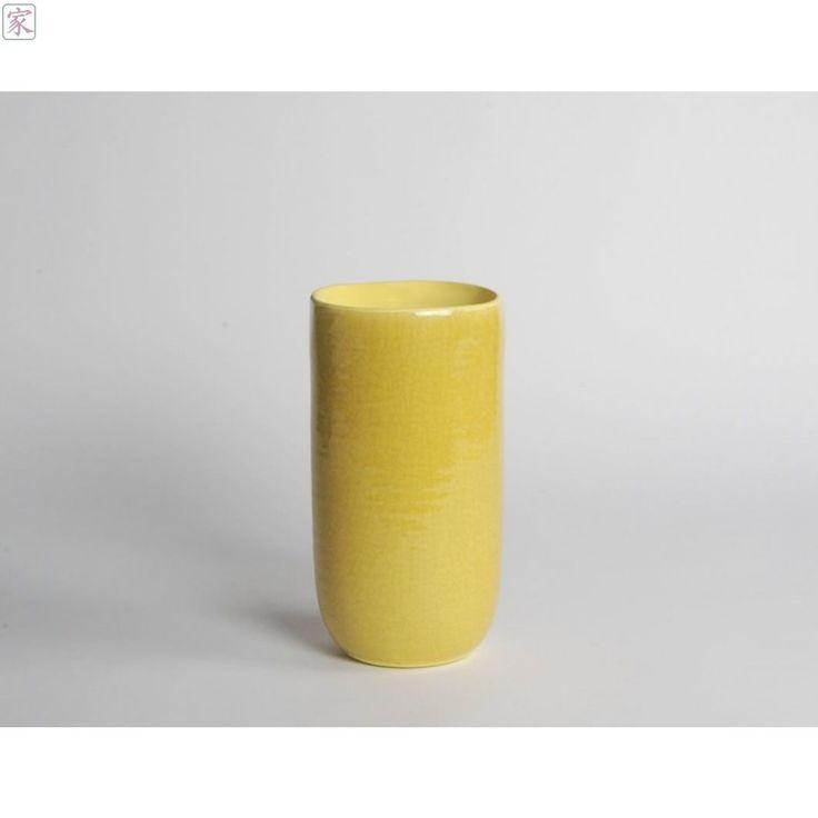 €15 voldoende geel? Gele vaas Africa (geel)