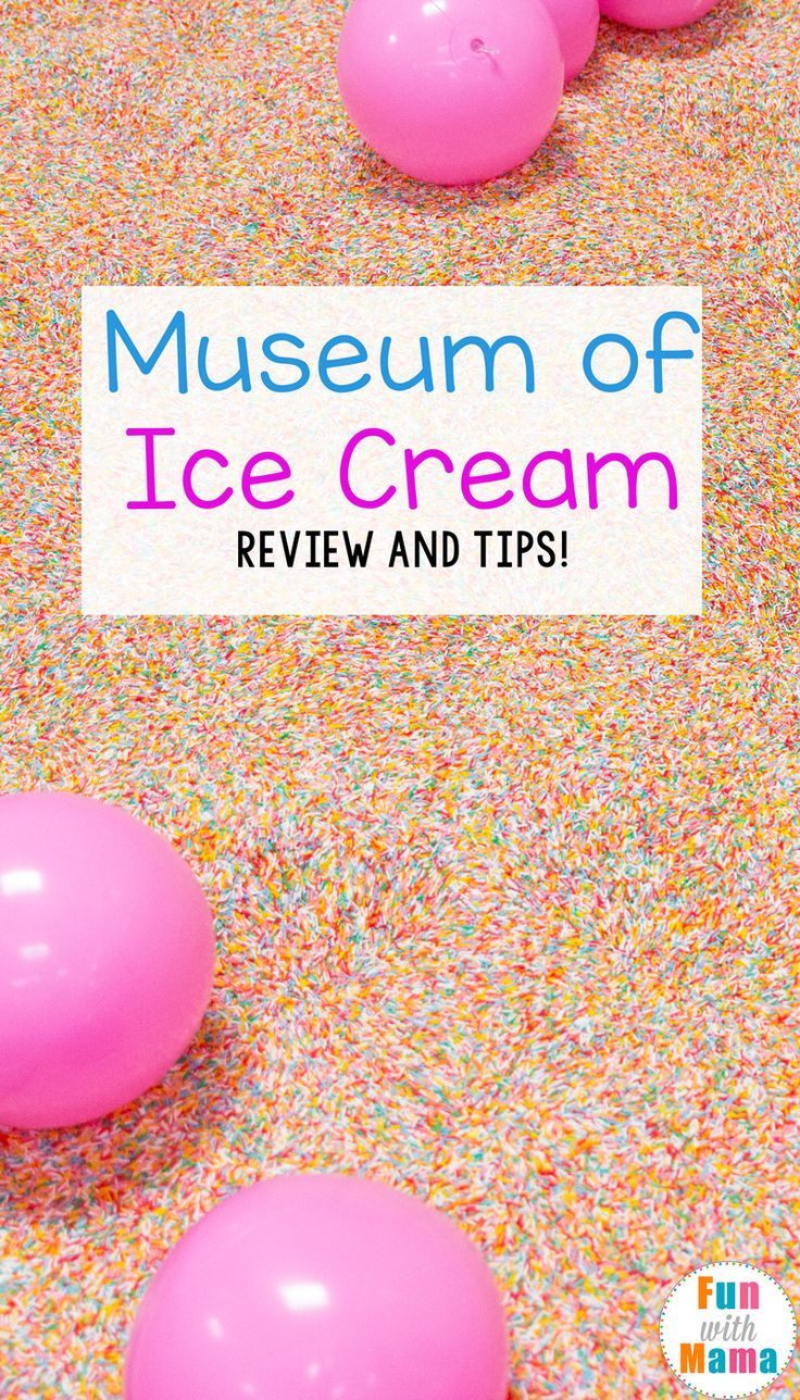 The Museum of Ice cream Los Angeles review includes fun tips to make your experience even more fun! via @funwithmama